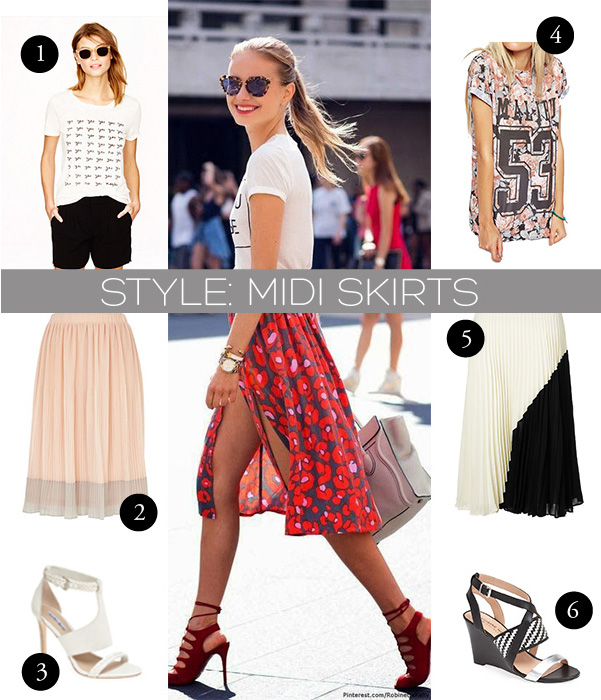 Midi Skirts | Notes From The Back Row