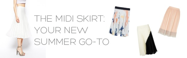 Summer Style: The Midi Skirt | Notes From The Back Row