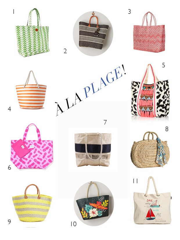 Beach Bags | Notes From the Back Row Blog