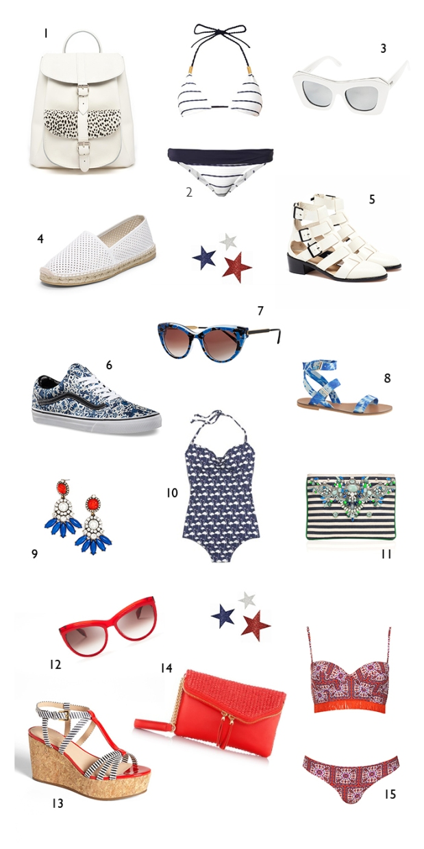 4th of July Accessories | Notes From the Back Row
