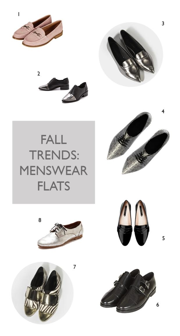 fall 2014 shoes | menswear flats  | notesfromthebackrow.com