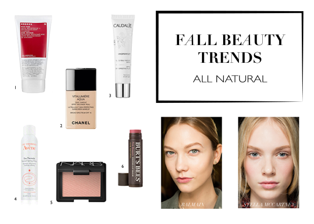 fall beauty trends | all natural makeup | notesfromthebackrow.com