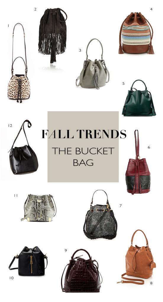 fall trends | bucket bags | notesfromthebackrow.com