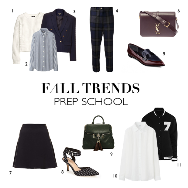 fall trends | college prep | notesfromthebackrow.com