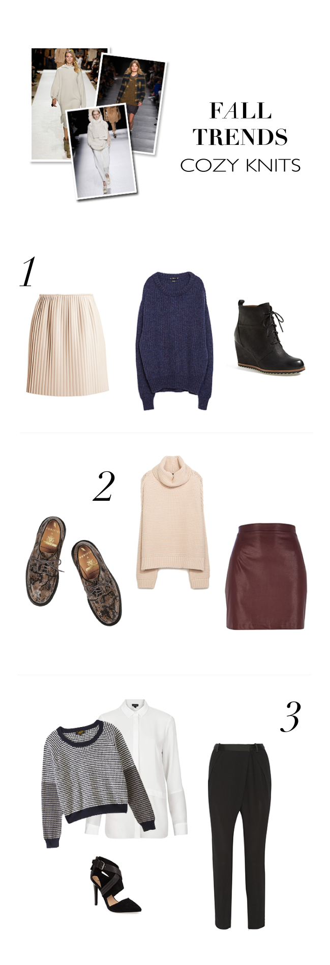 big cozy sweaters | fall trends | notesfromthebackrow.com