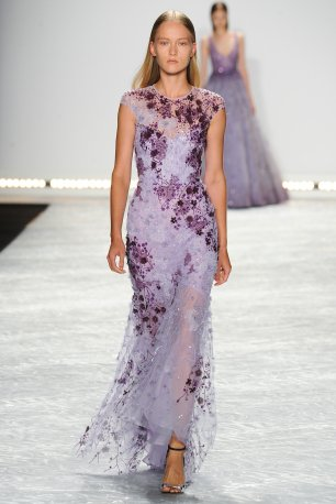 monique lhuillier | spring summer 15 | Kim Weston Arnold | notesfromthebackrow.com